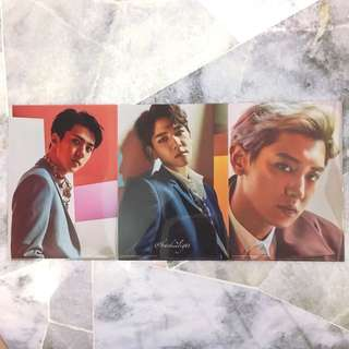 EXO The EℓyXiOn in Japan Pop Up Store Official Goods - Folder