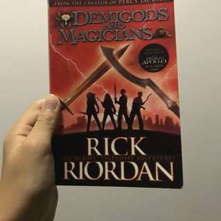 DEMIGODS AND MAGICIANS BY RICK RIORDAN CREATOR OF PERCY JACKSON