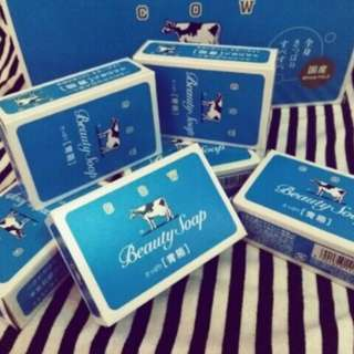 Cow milk soap