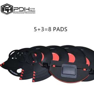 A SET OF PDH Professional Drum Mute Silencer