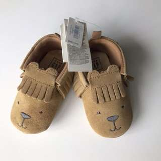 Brand new GAP baby moccasins shoes