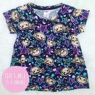 Dress Anak Full Print