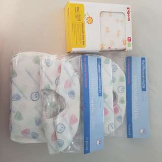 Feeding bibs disposable -40pcs
