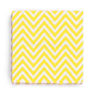 Chevron Napkins Value Pack (Set of 20) – Yellow