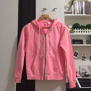 H&M Pink Hooded Jacket