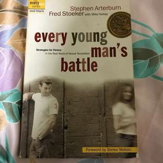 Choose 5 items for $15: Every Young Man's Battle by Stephen Arterburn