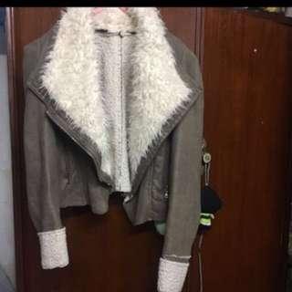 女裝絨面外套