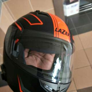 Mh3 Lazer full face helmet with sun visor