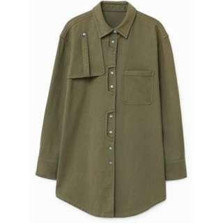Mango Military Shirt