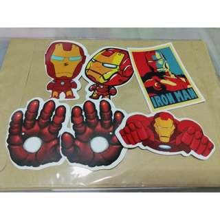 Marvel Stickers Ironman Sets