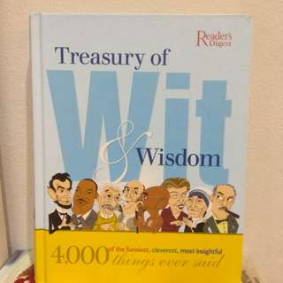 Treasury of Wit and Wisdom