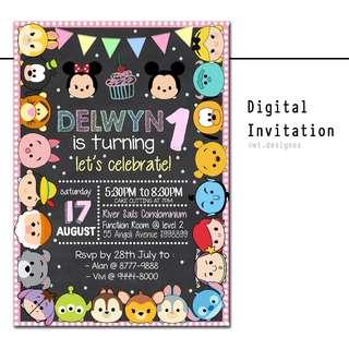 Personalized Digital Invitation
