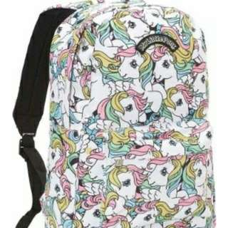 BN Retro My Little Pony MLP Backpack