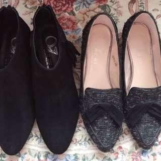 日本百貨購回知名品牌低跟鞋