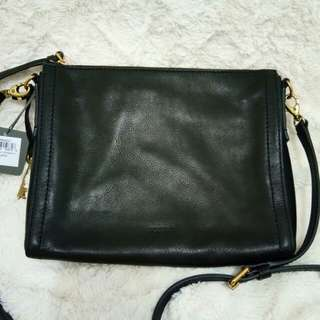 Fossil Emma Eastwest Leather crossbag authentic and new