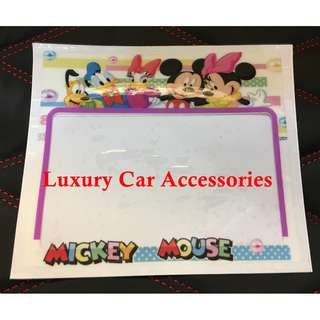 MICKEY MINNIE MOUSE CAR ROADTAX STICKER ROAD TAX