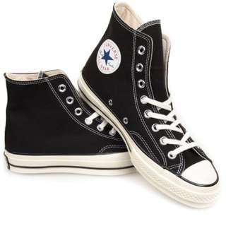 Converse 70s high black and white