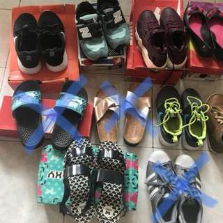New&Preloved Nike,Fitflop