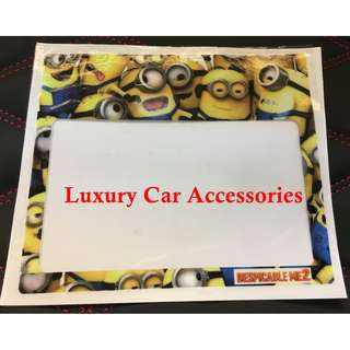 MINIONS CAR ROADTAX STICKER ROAD TAX