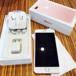 iPhone 7+ 256gb Rosegold