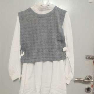 Shirt cute bahan adem fit to L