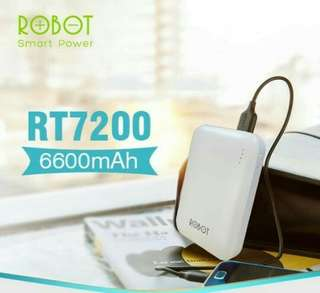 POWER BANK ROBOT RT7200 6600mAh
