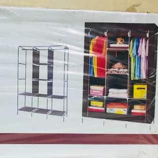 超大三排8格防塵衣櫃