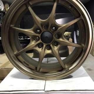 16 inch MUGEN MF8 sport rim