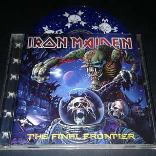 Iron Maiden  (The Final Frontier) Cd Rock  Brand New