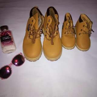 MOTHER AND DAUGHTER TIMBERLAND