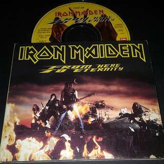 Iron Maiden (From Here To Eternity) Cd Rock - Rare