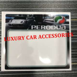 PERODUA CAR ROADTAX STICKER ROAD TAX