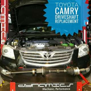Toyota Camry ACV40:- DriveShaft replacement