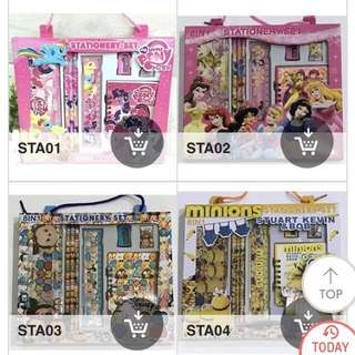 Selling on Qoo10 - 8 in 1 stationery sets