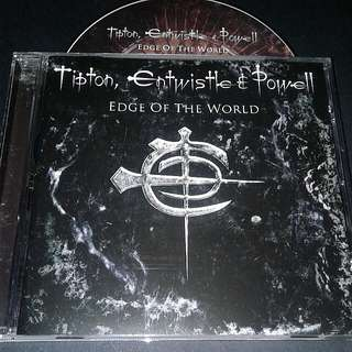 Tipton, Entwistle & Powell  (Edge Of The World) Cd Rock with late cozy Powell on drum