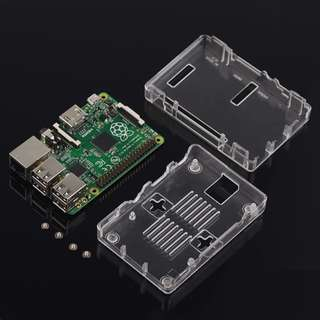 Clear Case for Raspberry Pi 3 | Instock