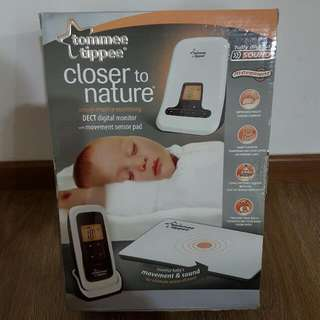 BNIB Tommee Tippee Digital Monitor with Movement Sensor Pad and Camera (For Baby and Elderly) - this week only SGD $160.00
