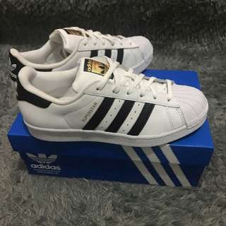Adidas Superstar Original white//black size 36-44,Box replace