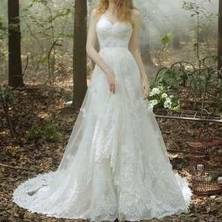 大拖尾婚紗