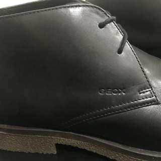Authentic Geox Black Leather Shoes