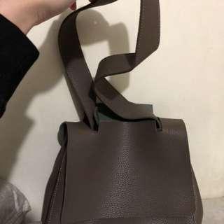 韓國品牌牛皮手袋