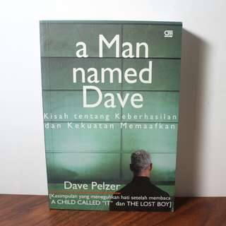 Novel - A Man Named Dave