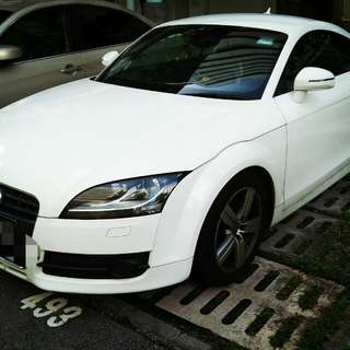 Audi TT Coupe for rent