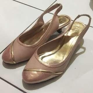 Sepatu Heels Fladeo pink