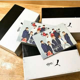 EXTRA PUMA COURTSTAR x BTS 240KR size readystock on hand!!