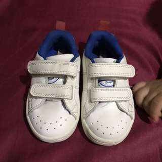 White shoes for baby boy