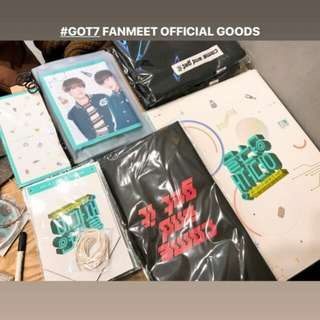 GOT7 FANMEET OFFICIAL GOODS