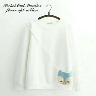 Pocket Owl Sweater