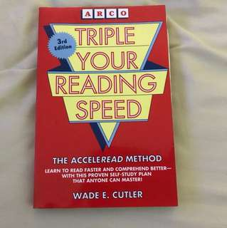 Choose 5 items for $15: Triple Your Reading Speed