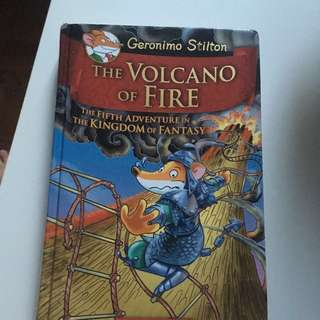 Geronimo Stilton Book : The Volcano of Fire